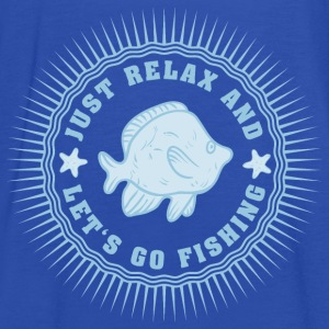 relax_and_lets_go_fishing_06201607 T-Shirts - Frauen Tank Top von Bella