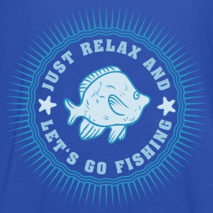 relax_and_lets_go_fishing_06201608 T-Shirts - Frauen Tank Top von Bella