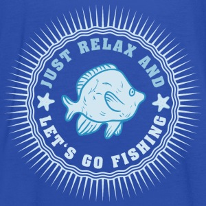 relax_and_lets_go_fishing_06201609 T-Shirts - Frauen Tank Top von Bella