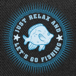 relax_and_lets_go_fishing_06201608 T-Shirts - Snapback Cap