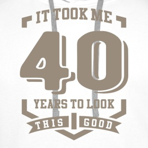 It Took Me 40 Years - Men's Premium Hoodie