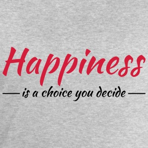 Happiness is a choice you decide T-skjorter - Sweatshirts for menn fra Stanley & Stella