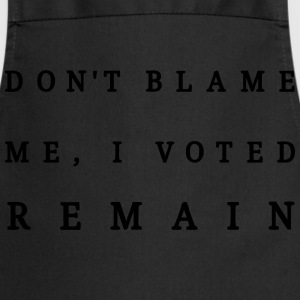 Dont Blame Me - Mens Tee - Cooking Apron