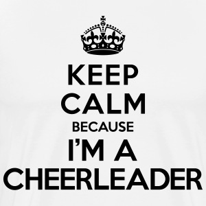 Keep calm because i'm a Cheerleader Tabliers - T-shirt Premium Homme