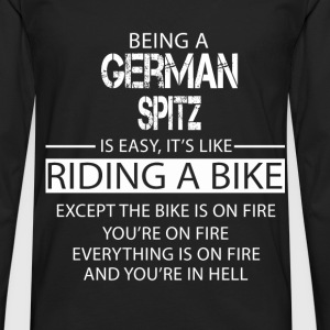 German Spitz T-Shirts - Men's Premium Longsleeve Shirt