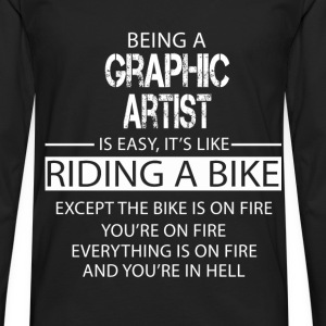 Graphic Artist T-Shirts - Men's Premium Longsleeve Shirt