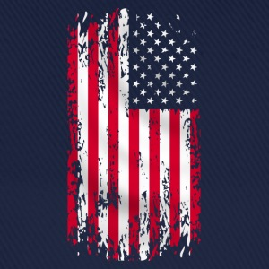 usa flag grunge style 07 Sweat-shirts - Casquette classique