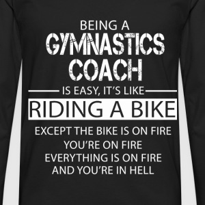 Gymnastics Coach T-Shirts - Men's Premium Longsleeve Shirt