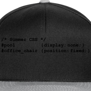 coding the summer - Snapback Cap