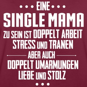 Single Mama Pullover & Hoodies - Frauen Oversize T-Shirt