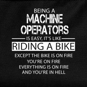 Machine operators T-Shirts - Kids' Backpack