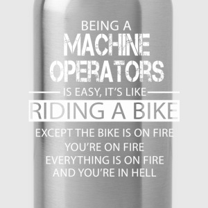 Machine operators T-Shirts - Water Bottle