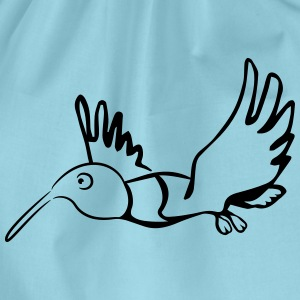 Vogel flying grappig T-shirts - Gymtas