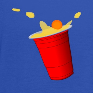 Beerpong hit T-Shirts - Women's Tank Top by Bella