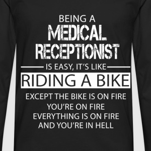 Medical Receptionist T-Shirts - Men's Premium Longsleeve Shirt