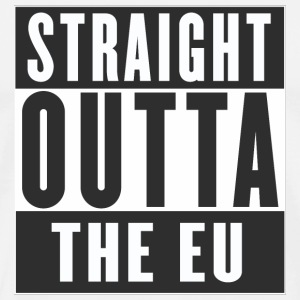 Straight outta the EU Mug - Men's Premium T-Shirt