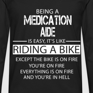 Medication Aide T-Shirts - Men's Premium Longsleeve Shirt