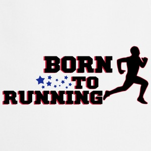 BORN TO RUNNING MAN 2 Bodys Bébés - Tablier de cuisine