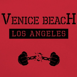 Jail-Shirt Venice Beach Los Angeles - Retro Tasche
