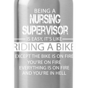 Nursing Supervisor T-Shirts - Water Bottle