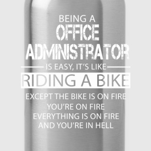 Office Administrator T-Shirts - Water Bottle