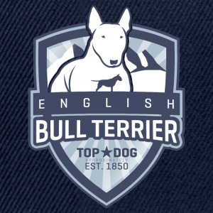 English Bull Terrier Mountains T-Shirts - Snapback Cap