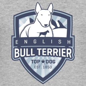 English Bull Terrier Mountains Pullover & Hoodies - Männer Slim Fit T-Shirt