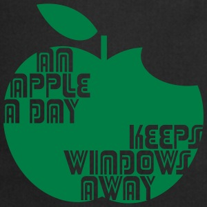 An Apple a day keeps Windows Away Pullover & Hoodies - Kochschürze