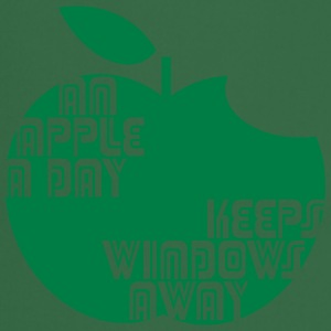 An Apple a day keeps Windows Away T-Shirts - Kochschürze