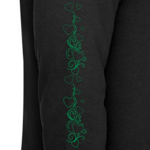 Yoga and fitness pants heart design  Sous-vêtements - Sweat-shirt Homme Stanley & Stella