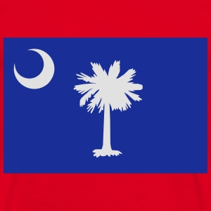 Flag South Carolina Felpe - Maglietta da uomo