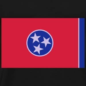 Flag Tennessee Tops - Men's Premium T-Shirt
