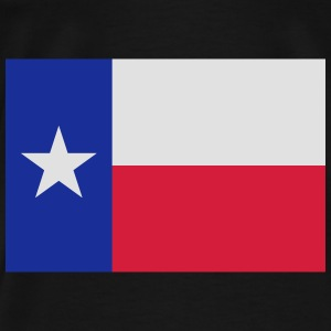 Flag Texas Hoodies & Sweatshirts - Men's Premium T-Shirt