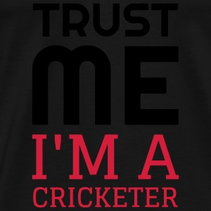 Cricket - Cricketer - Sport - Kricket - Wicket Baby body - Mannen Premium T-shirt