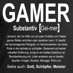 Gamer Definition T-Shirts - Männer Sweatshirt von Stanley & Stella
