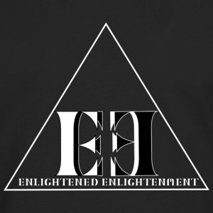 Enlightened Enlightment - Triangle - White n Black T-Shirts - Männer Premium Langarmshirt