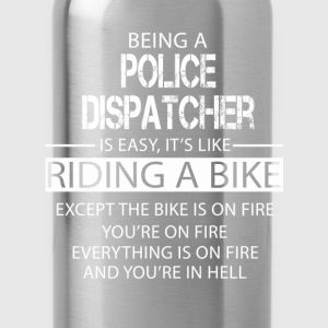 Police Dispatcher T-Shirts - Water Bottle