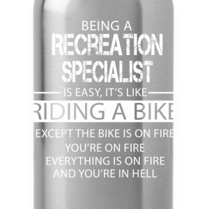 Recreation Specialist T-Shirts - Water Bottle