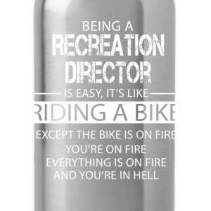 Recreation Director T-Shirts - Water Bottle