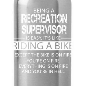 Recreation Supervisor T-Shirts - Water Bottle