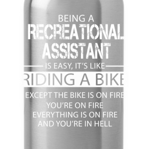 Recreational Assistant T-Shirts - Water Bottle