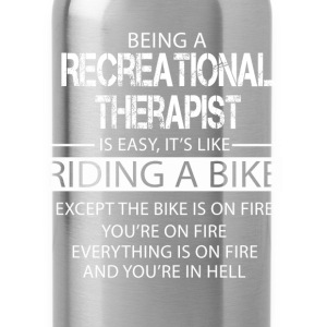 Recreational Therapist T-Shirts - Water Bottle