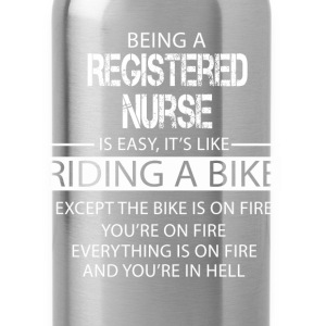 Registered Nurse T-Shirts - Water Bottle