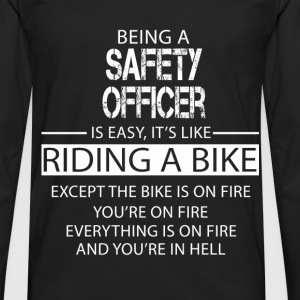 Safety Officer T-Shirts - Men's Premium Longsleeve Shirt