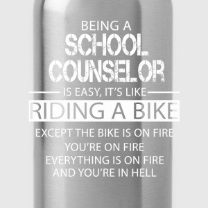 School Counselor T-Shirts - Water Bottle