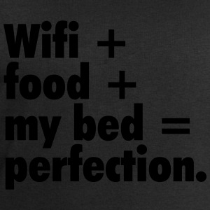 Wifi + food + my bed T-Shirts - Men's Sweatshirt by Stanley & Stella