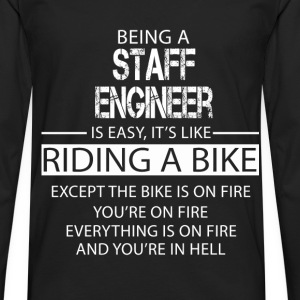 Staff Engineer T-Shirts - Men's Premium Longsleeve Shirt