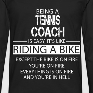 Tennis Coach T-Shirts - Men's Premium Longsleeve Shirt
