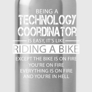 Technology Coordinator T-Shirts - Water Bottle