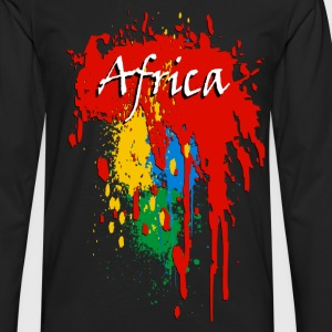Africa - Afrique Tee shirts - T-shirt manches longues Premium Homme